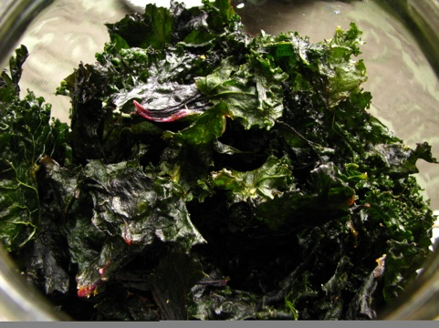 Spicy Kale Chips With A Thyroid-Loving Twist